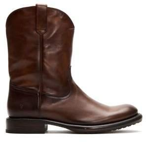 Frye Duke Leather Roper Boots