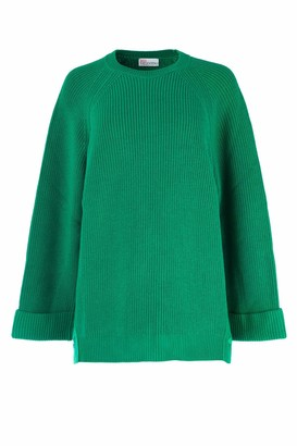 RED Valentino Snap Button Detail Sweater