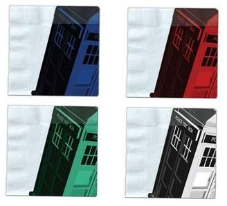 Doctor Who Seven20 Iconic Color TARDIS Napkin Set of 20
