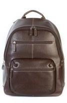 Boconi Men's 'Tyler' Rfid Leather Backpack - Brown