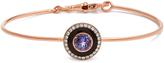 SELIM MOUZANNAR Diamond, tanzanite & pink-gold Mina bracelet
