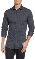 Stone Rose Men's Melange Knit Sport Shirt