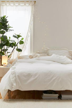 Urban Outfitters Lily Ruffle Duvet Cover