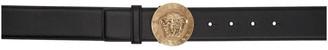 Versace Black Medusa Coin Belt