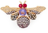 Nadri Purple Bee Pin