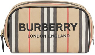 Burberry Icon Stripe make-up bag