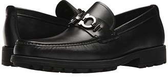 Salvatore Ferragamo David Loafer (Black) Men's Slip on Shoes
