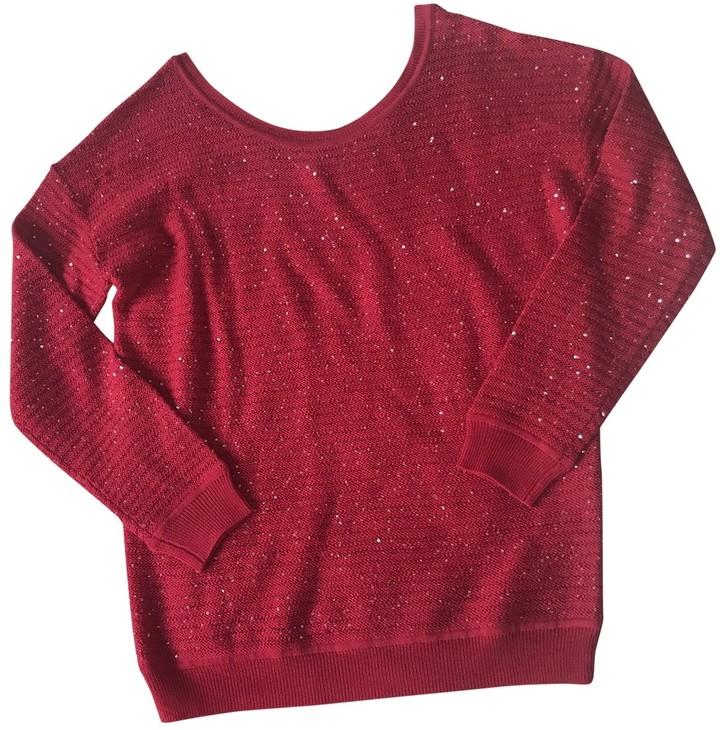 Sandro Fall Winter 2018 Pink Wool Knitwear for Women