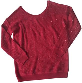 Sandro Fall Winter 2018 Pink Wool Knitwear
