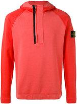 Stone Island classic hooded sweatshirt - men - Cotton - M