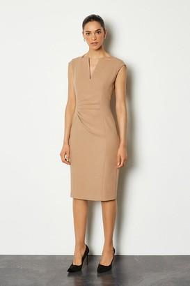 Karen Millen Envelope Neck Sleeveless Dress