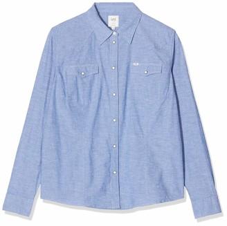 Lee Women's Slim Western Shirt Blouse