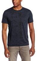 John Varvatos Men's Short Sleeve Burnout T-Shirt