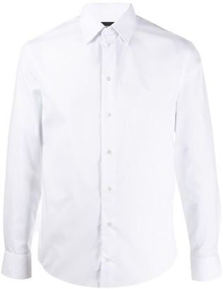 Emporio Armani Long Sleeved Cotton Shirt
