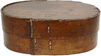 One Kings Lane Vintage 19th-C. Kitchen Pantry Box w/Heart - Rose Victoria