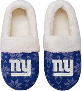 Unbranded Women's New York Giants Ugly Knit Moccasin Slippers