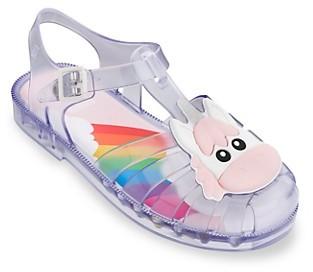 Mini Melissa Girl's Unicorn Sandals