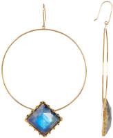 Lana 14K Gold Mesmerize Frontal Hoop Earrings