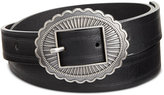 INC International Concepts Skinny Conch Buckle Belt, Only at Macy's