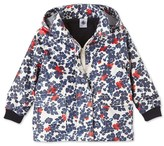 Petit Bateau Baby girls printed and lined raincoat