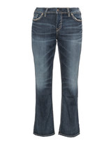 Silver Jeans Plus Size Embroidered Suki bootcut jeans