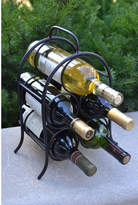 J & J Wire 5 Bottle Tabletop Wine Rack