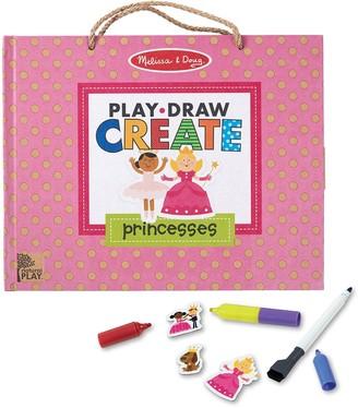 Melissa & Doug Reusable Drawing And Magnet Kit Princess