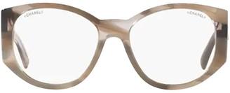 Chanel Oval Frame Glasses
