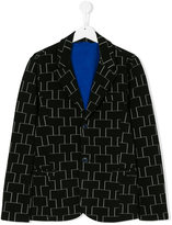 Armani Junior printed blazer