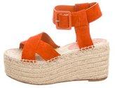 Celine Espadrille Platform Sandals