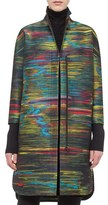 Akris Punto Women's 'Northern Lights' Jacquard Coat