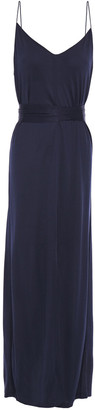 Ninety Percent Belted Jersey Maxi Dress