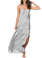 O'Neill Tessie Printed Woven Sleeveless Maxi Dress