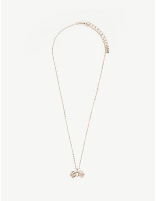 Ted Baker Sarahli bow pendant necklace