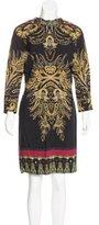 Etro Wool Patterned Dress