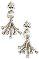 Oscar de la Renta Women's 'Galaxy Coral' Drop Earrings