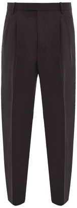 Paul Smith Tailored Wool Slim-leg Trousers - Mens - Black