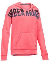 Under Armour Girls 7-16 Favorite Fleece Long Sleeves Hoodie