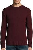 ST. JOHN'S BAY St. John's Bay Long-Sleeve Classic-Fit Crewneck Sweater