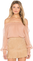 Elizabeth and James Michela Dropped Shoulder Blouse