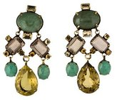 Iradj Moini Multistone Chandelier Clip-On Earrings