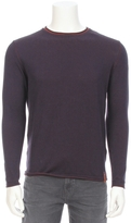 Knowledge Cotton Apparel Two-Tone Long Sleeve Knit Tee