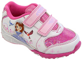 Josmo Pink & White Sofia the First Running Shoe - Toddler & Girls