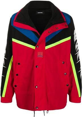 Diesel Colour Block Sport Jacket