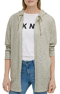 DKNY Zip Up Hooded Jacket