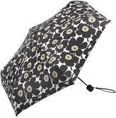 Marimekko Mini Unikko Mini Manual Umbrella - Black/White