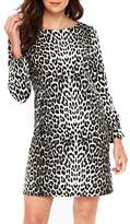 Wallis Leopard Ponte Dress