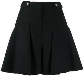 Alexander McQueen Full Mini Pleated Skirt