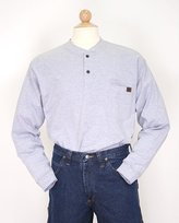 Wrangler RIGGS WORKWEAR Men's Big & Tall and Tall Long Sleeve Henley