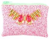 Mawi Small Embellished Glitter Clutch